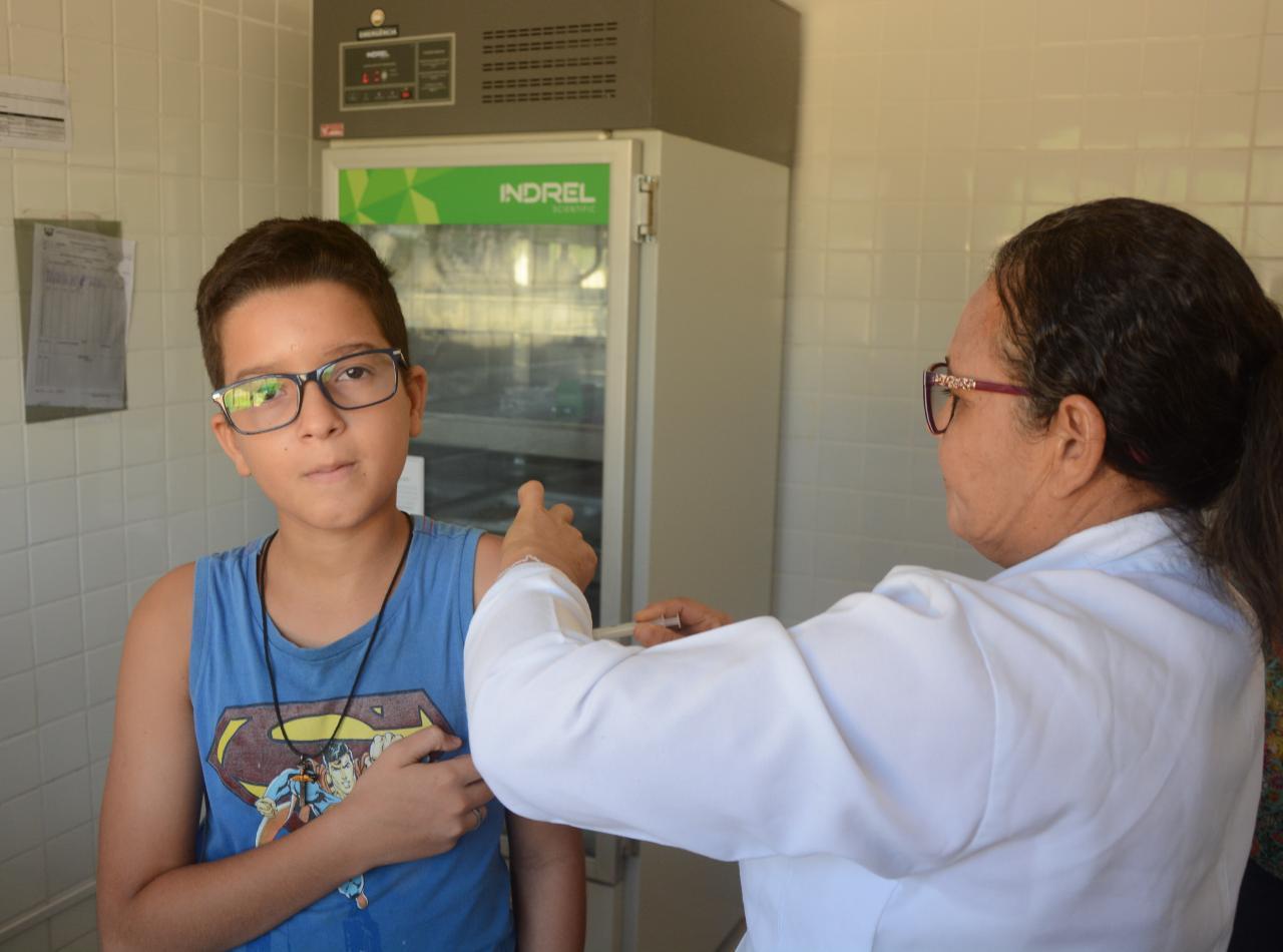 Saúde: Prefeitura Municipal inicia primeira fase da Campanha de Vacinação contra o sarampo