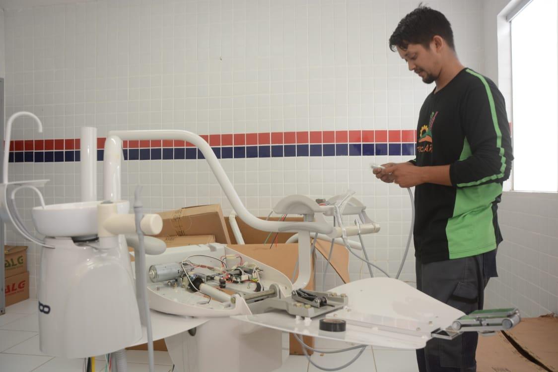 Saúde: UBS de Humaitá recebe nova cadeira odontológica