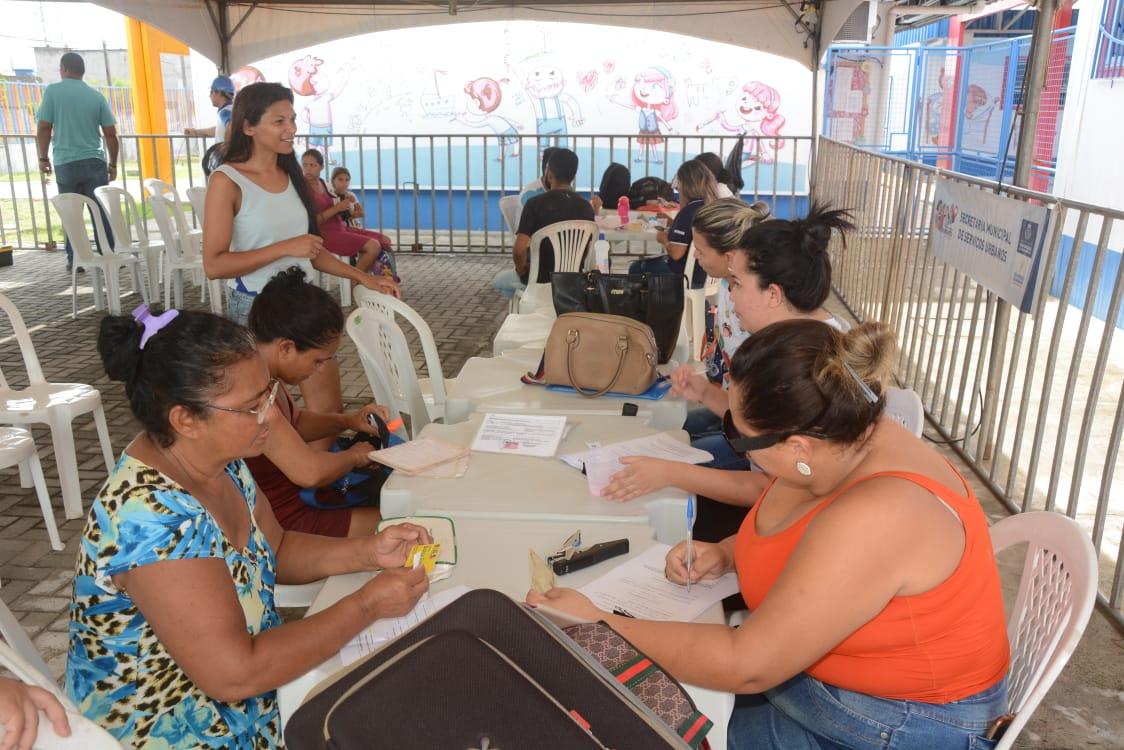 Jardim Lola recebe ações do programa Prefeitura em Movimento