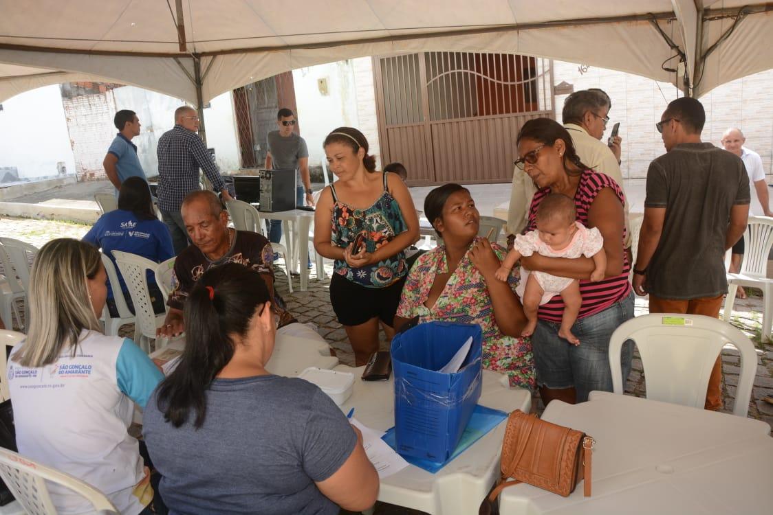 Olho D'Água do Carrilho, Nova Zelândia e Guajiru recebem ações do Prefeitura em Movimento