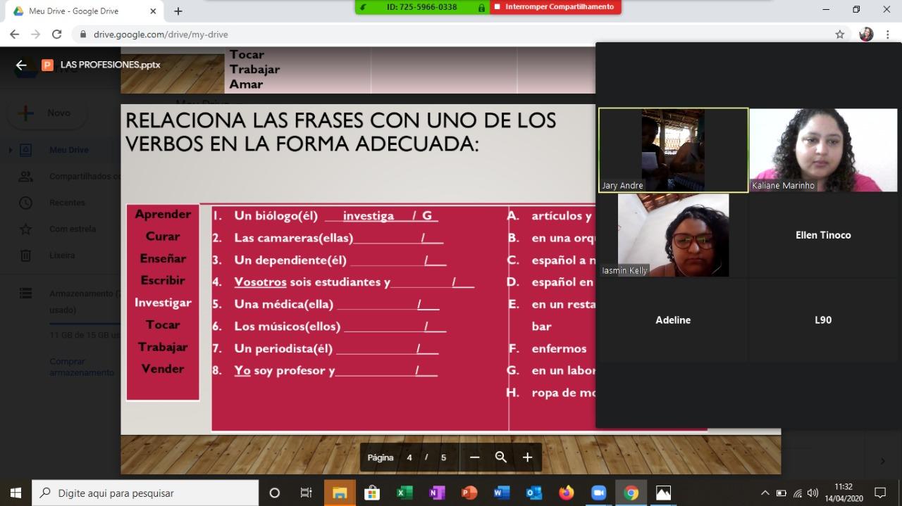 Projeto Fala Mais promove aulas online durante isolamento social