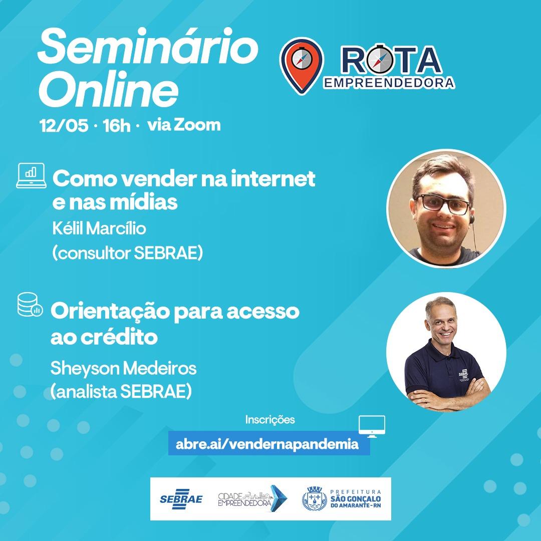 Como vender na internet: Prefeitura de São Gonçalo promove seminário virtual para comerciantes