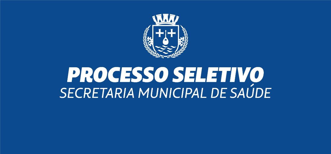 Prefeitura abre seletivo para contratação de profissionais da saúde; inscrições encerram nesta quinta-feira (2)