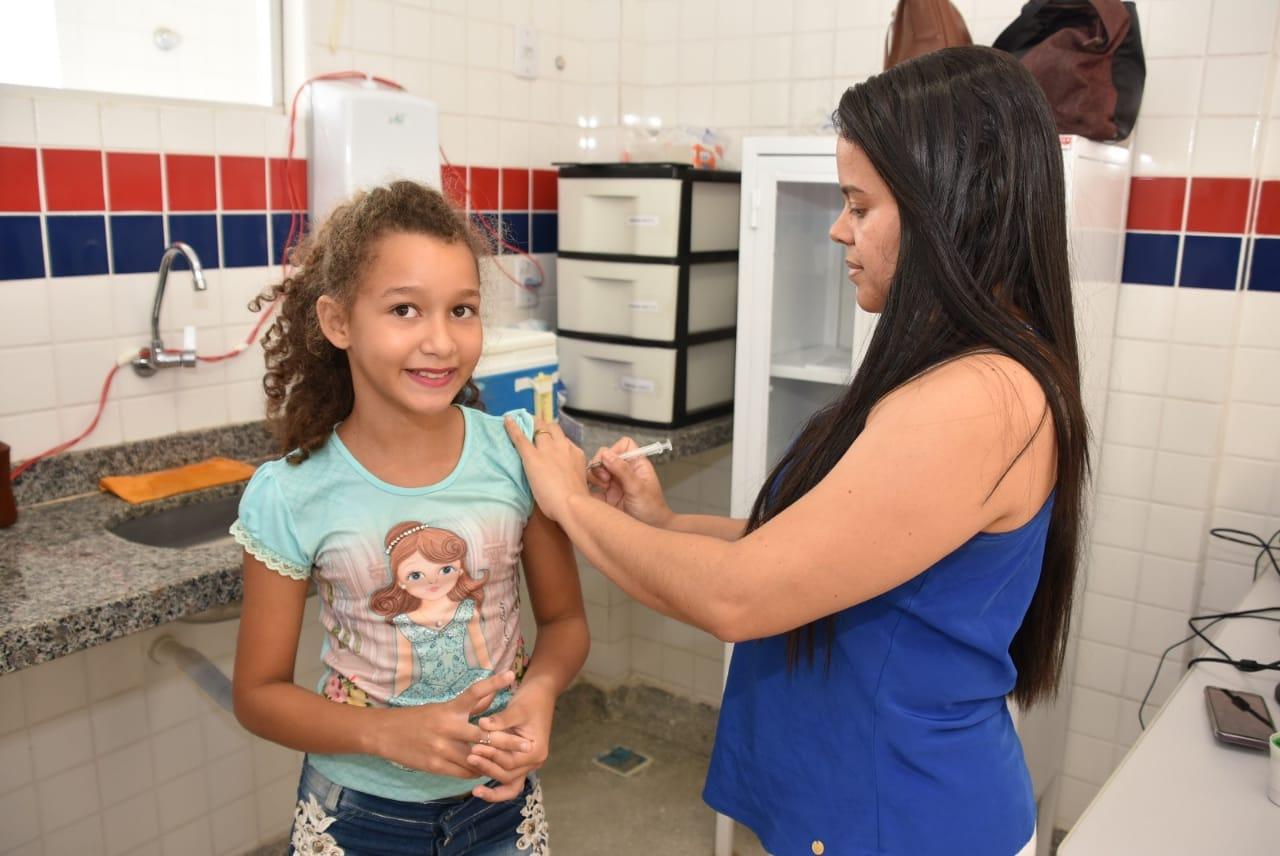 Iniciada Campanha de Multivacinação para crianças e adolescentes
