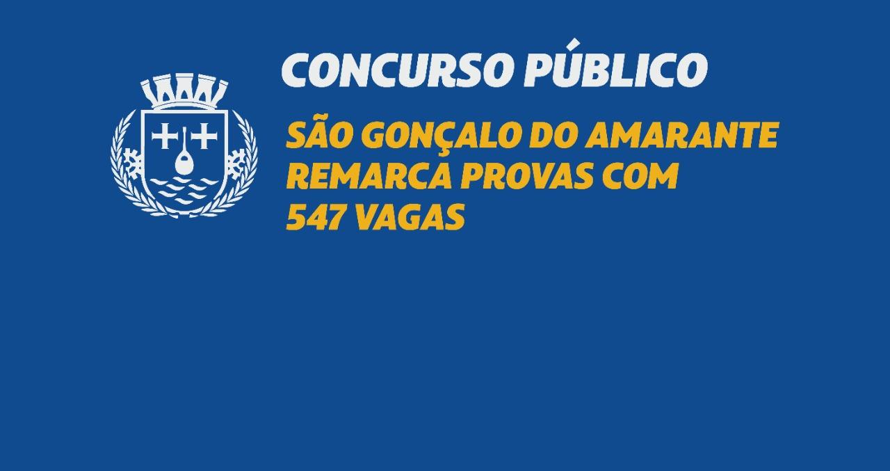 Concurso: São Gonçalo remarca provas com 547 vagas