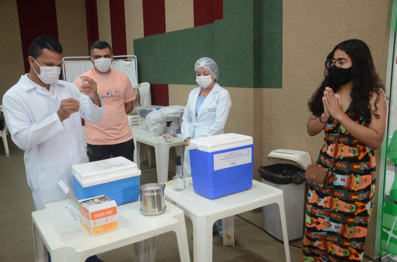 SGA é a 1ª cidade da Grande Natal a vacinar população acima de 18 anos contra a covid-19